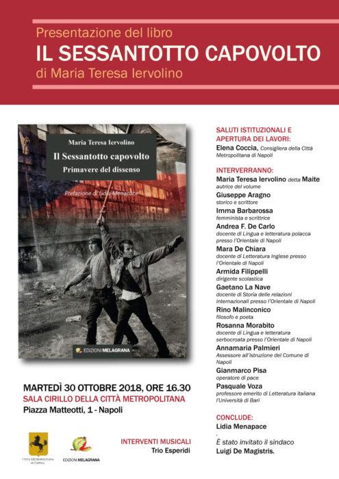 Il Sessantotto capovolto a Napoli il 30 ottobre 2018